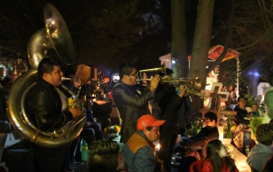 Mariachi Bands at the Graveyard