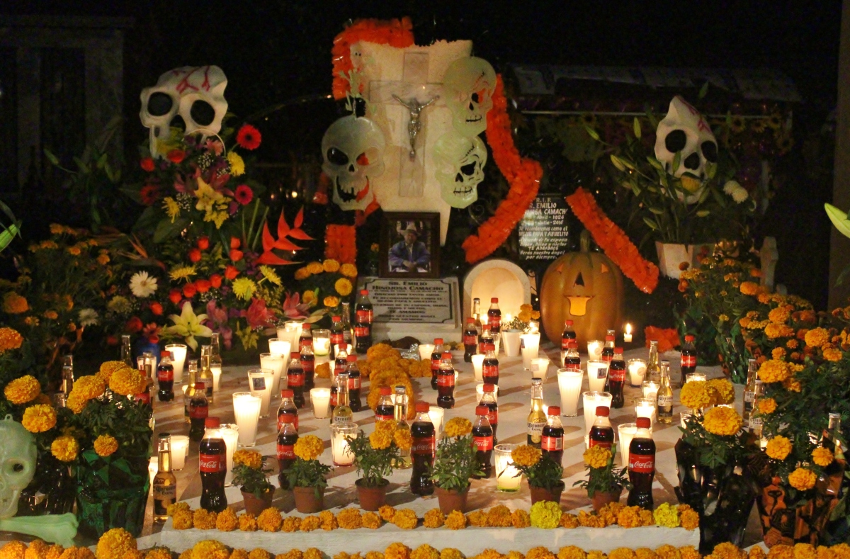 "Dia de Los Muertos (Day of the Dead)          "" There is no life, except by death"""